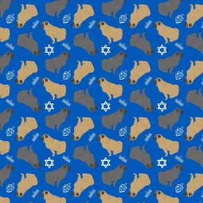 Tiny Pugs - Hanukkah