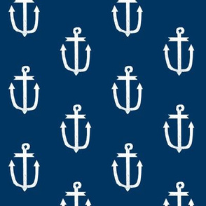 anchor fabric navy blue and white anchors navy blue fabric