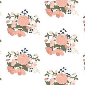 Pink Peach Flowers