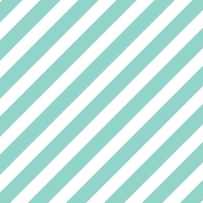mint diagonal stripe fabric mint stripes baby nursery coordinate
