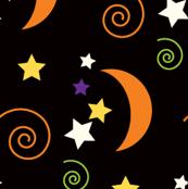 Spooky Moons & Stars