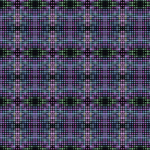 Dizzy Dots on Deep Black
