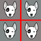 Bull Terrier Blocks