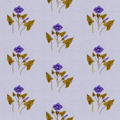 Morning Glory Linen in Antique Lilac