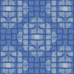 BASKETWEAVE - dk blue