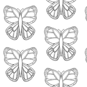Butterfly 2- Coloring Design