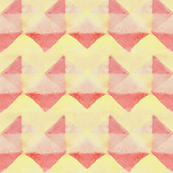 Abstract Watercolor Chevron Triangles