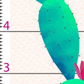 Growth Chart Cactus