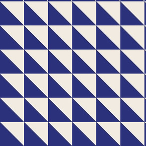 Blue and cream geometric flags_Miss Chiff Designs