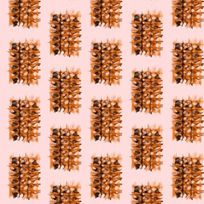 Shaggy Dog Rugs on Dawn Blush Pink