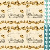 Peanut Butter Kiss Recipe Tea Towel_Miss Chiff Designs