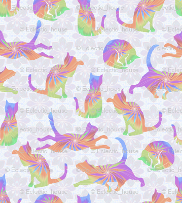 Rpastel_rainbow_cats_on_pale_flowers_preview