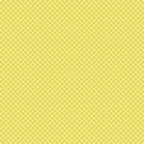 Grid in chartreuse yellow