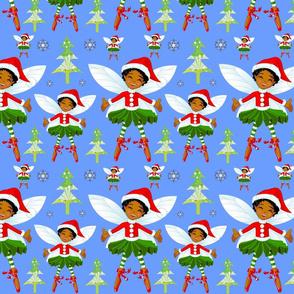 Christmas Fairy -Blue