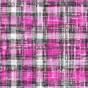 Bubblegum Pink Lumberjack Grunge by Su_G