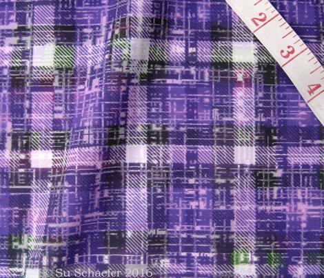 Bubblegum Purple Lumberjack Grunge by Su_G