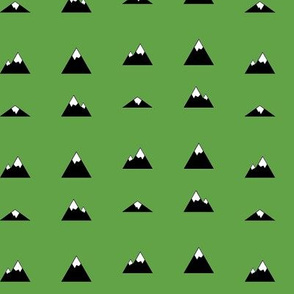 Mountains on Green