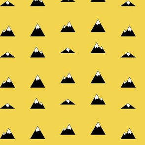 Mountains on Yellow