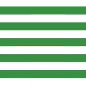 Big Green Horizontal Stripes