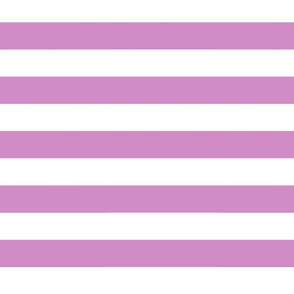 Big Purple Horizontal Stripes