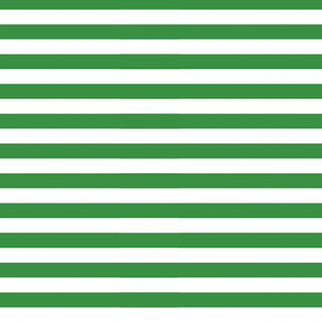 Green Horizontal Stripes