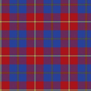 Galloway dress tartan (yellow line)