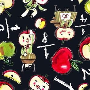 Apple goes to school