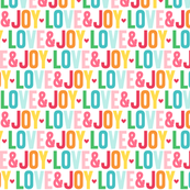 love joy :: colorful christmas