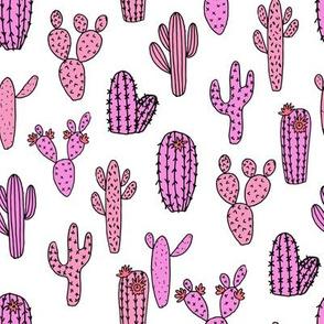 cactus fabric // cactus fabric cacti flowers cactus andrea lauren fabric andrea lauren design desert pink fabrics palm springs
