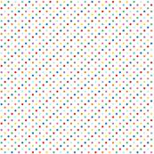 tiny rainbow polkas