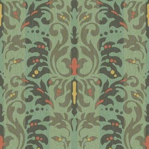 Teal_Damask_Stripe