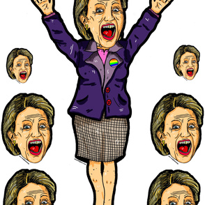 clinton voodoo doll, lifesized!