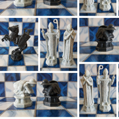 wizard chess - potter's world