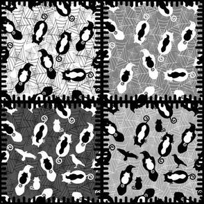 Cats v Raverns patchwork