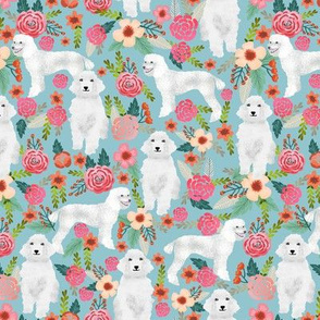 poodle florals blue cute standard white poodle fabric white poodles cute poodle fabric best poodle design