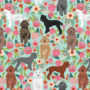 poodle florals cute poodles fabric mixed poodles color poodles cute poodle design best poodles fabric