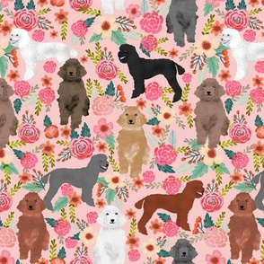 poodles florals cute poodle fabric best poodle design cute dog florals poodles fabric