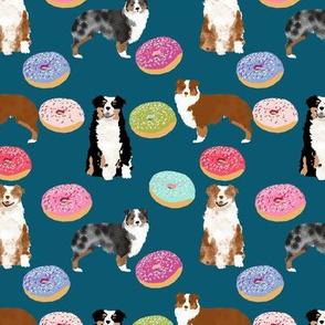 australian shepherd donuts cute pink donuts aussie dogs cute best dog fabric doughnuts design