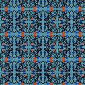 Deco Doodle - blue