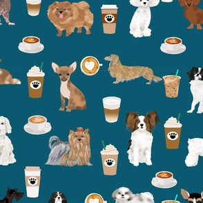 dogs cute dog fabric with coffees blue best dog designs cute dog fabric best dog fabrics cute dog designs coffee and dogs love
