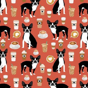 boston terrier dogs fabric cute coffee fabrics best boston terriers dog cute dog fabric