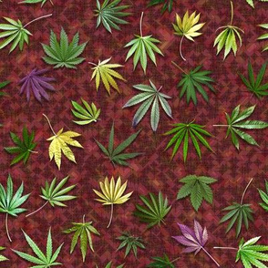 Ganja Fan Leaf Collection (R)