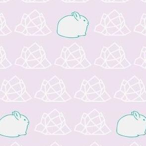 Arctic Hare Huddle