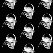 Greta Garbo black and white