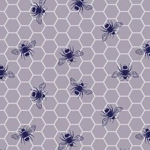 Glowing Hive | Mauve | Dark
