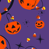 Halloween Magic Lg Scale-Purple