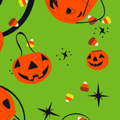 Halloween Magic Lg Scale-Green