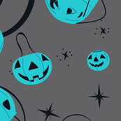 Halloween Magic Lg Scale-Teal Pumpkin Project