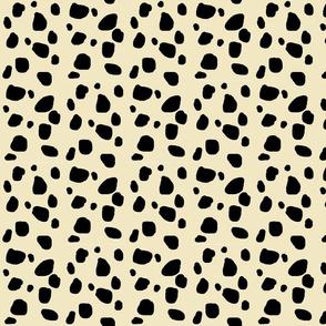 Cheetah spots MEDIUM  - ivory-