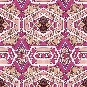 Edwardian Hexagon Bloom